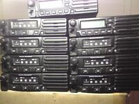 VHF TWO WAY MOBILE RADIOS 9 IN TOTAL