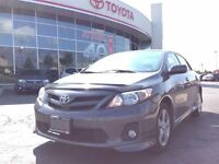 2011 Toyota Corolla S PACKAGE, ALLOYS, FOG LAMPS, POWER GROUP