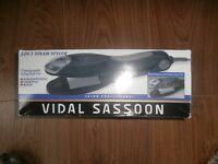 Vidal Sassoon 3 in 1 steam hair styler