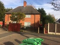 3 Bedroom House Hempshill Lane Bulwell, cul de sac, Drive for 2 cars, large private grassed garden