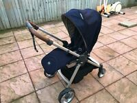mamas and papa push chair 1 year warranty with it