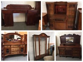 ** SELECTION OF USED FURNITURE & SUITES **
