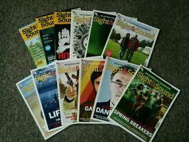 Sight and Sound magazines