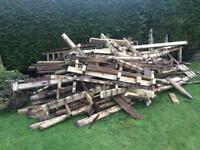 FREE wood for log burner