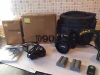 Nikon d90 with Nikkor 35mm