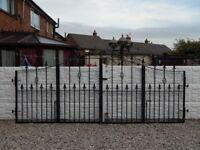 Wrought iron gates / Driveway gates / Garden gates / Metal gates / Steel gates / Bi folding gates