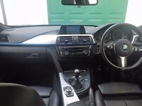 "BMW 320d M-Sport Touring 2013 (63) - 54000 miles - SAT NAV + 18""Alloys + 184bhp + Full Leather"