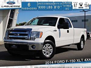 2014 Ford F-150 XLT**4X4*BLUETOOTH*A/C*GR. ÉLECTRIQUE**