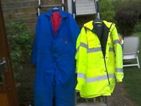 Hi-Vis Security Coat XL