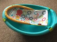 Fisher price baby bath.