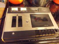 Vintage Hitachi D-2310 Stereo Cassette Tape Player Recorder Deck