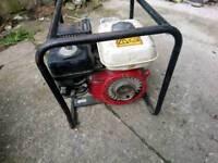Honda gx 120 engine go-kart waterpump rotator