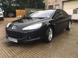 Peugeot 407 2.7hdi coupe