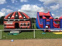 Bouncy castles , disco domes, inflatables, sumo suits, slides