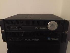 Peavey 2600 Amps