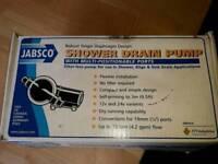 Jabsco shower drain pump