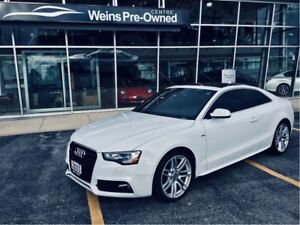 2015 Audi A5 PROGRESSIV ACCIDENT FREE NAVIGATION