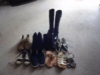 Selection of 'as new' shoes size 6