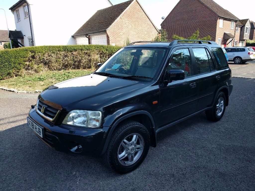 reserved immaculate honda crv es 2000 black leather seats 77k in newbury berkshire. Black Bedroom Furniture Sets. Home Design Ideas