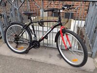 Mens Bicycle + New D lock 65 Pounds (1 year old bike)