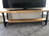 Handmade Scaffold TV Unit/coffee table- solid wood