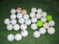 30 Used Golf Balls for £12.00