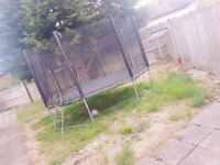"""12"""" LARGE TRAMPOLINE GOOD CONDITION"""