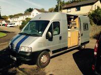 Campervan for sale. 2 berth. Citroen Relay Professional Van Conversion.