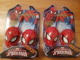Spiderman Walkie Talkies (2 Pairs)