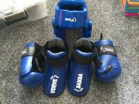 KIDS VERVE SPARRING EQUIPMENT FOR TAE-KWON-DO / KICKBOXING etc