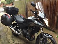 Honda CB500X.Ready For a New Adventure.Great condition, Full luggage, many extras.