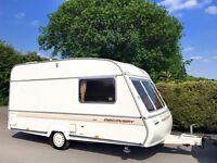 Bailey Discovery 2 Berth Caravan - Lightweight Caravan