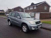 2005 TOYOTA RAV4 XT4 2.0 D-4D,MANUAL,DIESEL,2 FORMER KEEPERS,07858140523