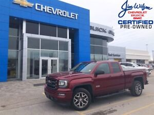 2017 GMC Sierra 1500 SLT 5.3L 4X4 ALL-TERRAIN LEATHER NAV ONE OW