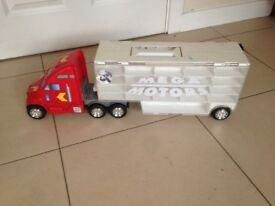 Toy Lorry - Carries Matchbox Cars
