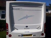 2008 Elddis Avante 544 4 berth touring caravan complete with Powrtouch motor mover.