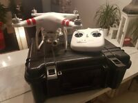 Drone DJI PHANTOM 2 VISION+ V3 with extrass