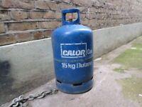 15Kg PART FULL CALOR GAS BOTTLE
