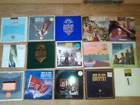 "20 x big country LP's / 12""/10""/ - 80's magazines"