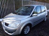RENAULT SCENIC DYNAMIQUE 2007 1.6 PETROL 5 DR SILVER 50,000 MILE MOT 27/12/18 FULL SERVICE HISTORY