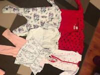 BABY GIRL CLOTHES BUNDLE up to 1 month 1Olbs