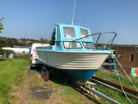 22ft Teal Leisure / Fishing Boat