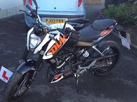 KTM Duke 125 White
