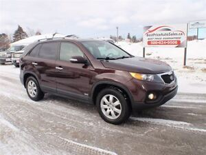 2012 Kia Sorento ALL WHEEL DRIVE! CERTIFIED!
