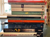 Assorted fiction: novels, plays and prose