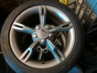 Seat Leon fr alloys with winter tyres