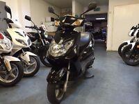 Yamaha Cygnus 125cc Automatic Scooter, Black, Good Condition, ** Finance Available**