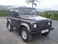 Land Rover Defender 90 County Hard Top - 21,800 Miles - come supplied serviced, m.o.t'd and warranty