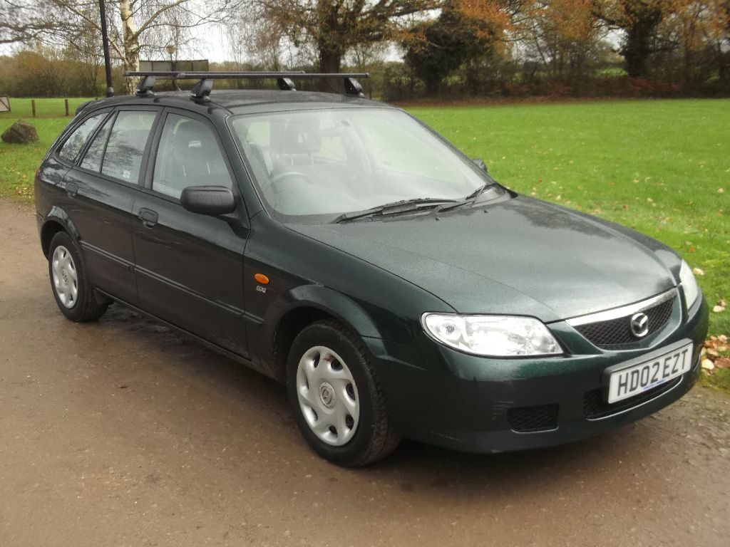 2002 mazda 323f gxi 1 6 estate mot novemeber 2016 only 73 000 miles only 595 in. Black Bedroom Furniture Sets. Home Design Ideas
