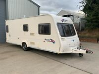 Bailey Pageant S6 Burgundy 2008 4 berth Fixed end bed